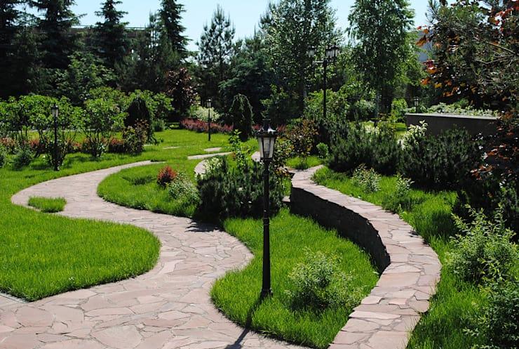alejka ogrodowa z kamienia