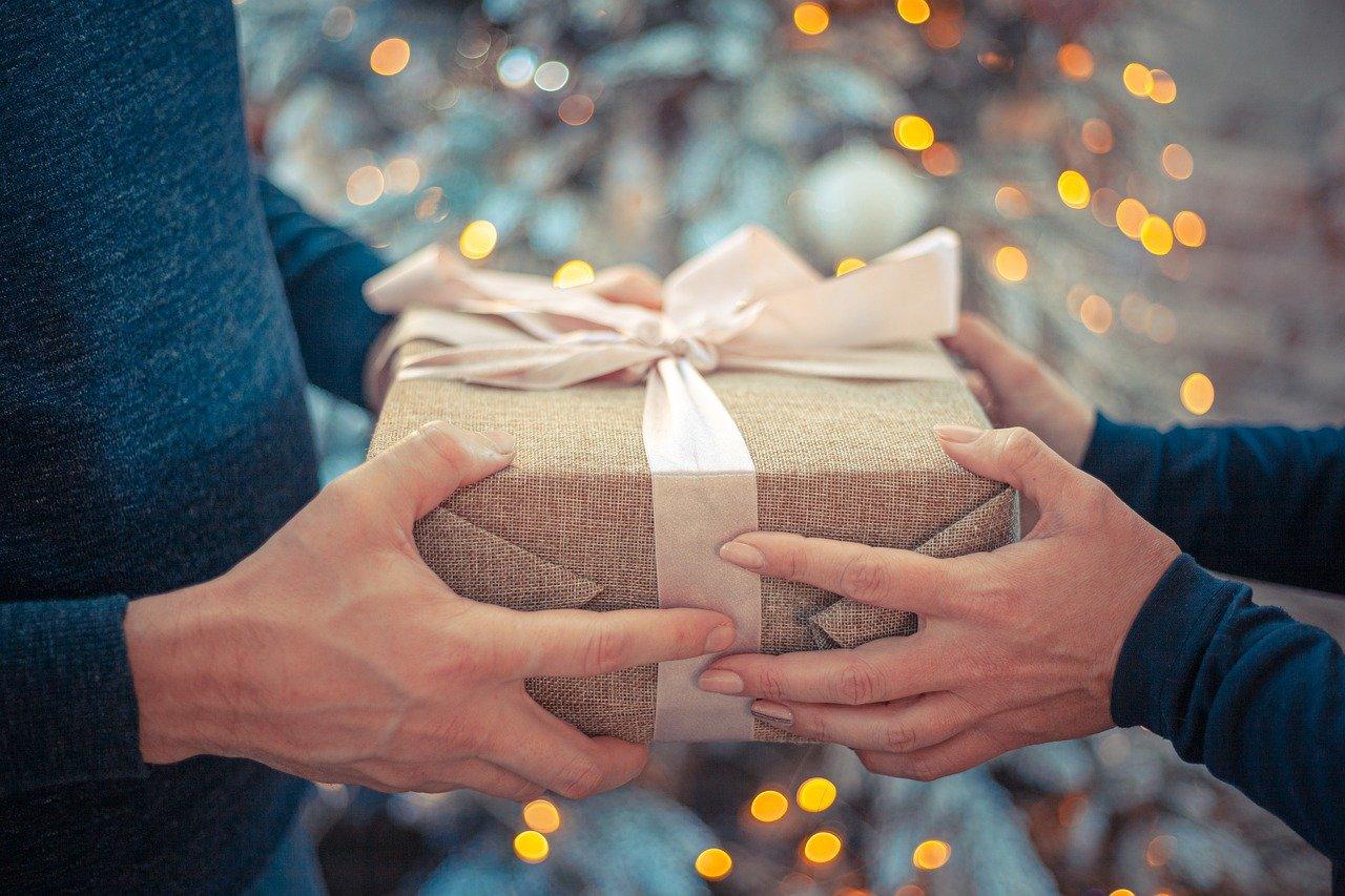 prezent na szczęście