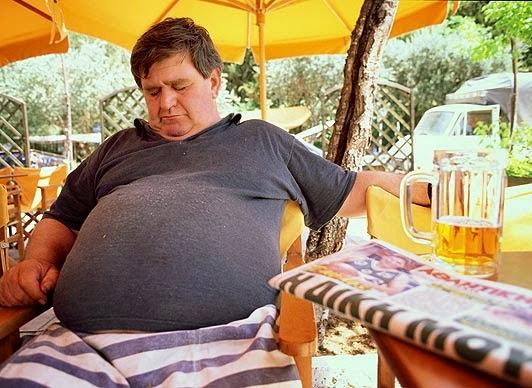 meski brzuch powody nadwagi