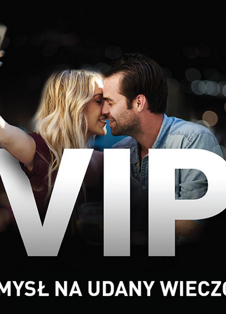 Najlepsza rozrywka tylko w Cinema City VIP!