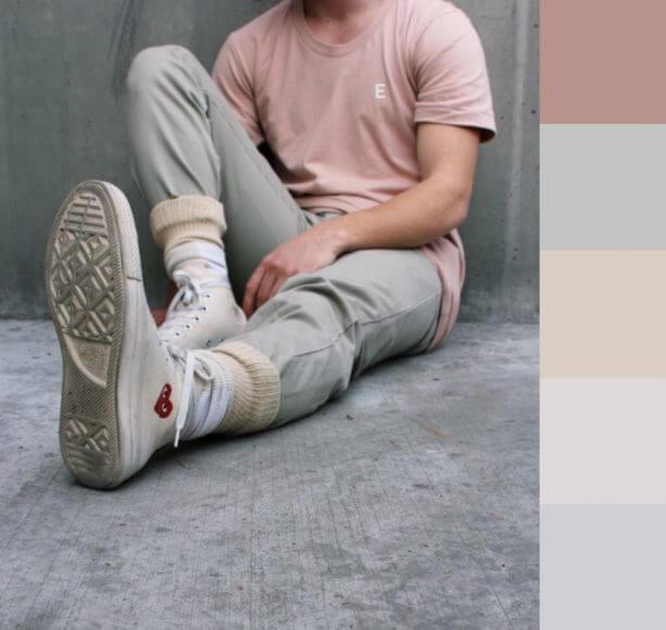jak laczyc kolory w modzie meskiej