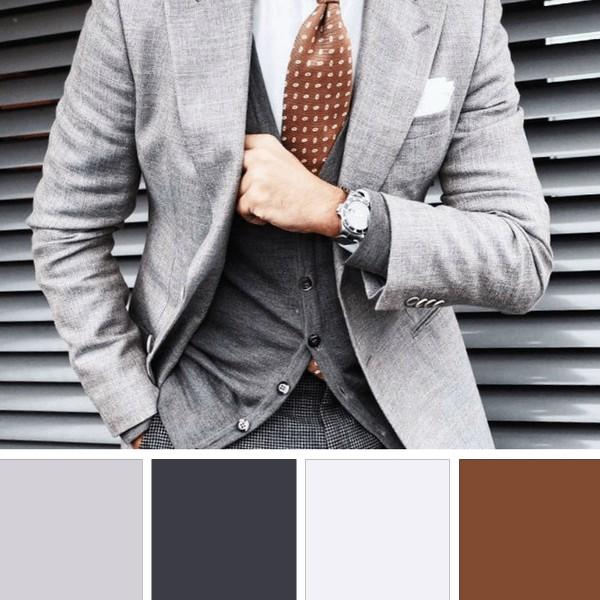 kolorowe garnitury meskie