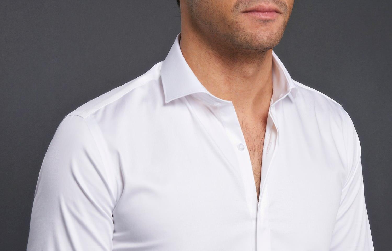 biała koszula męska garderoba