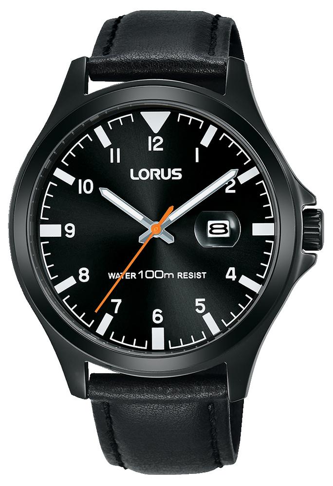 Lorus RH967KX9w kolorze czarnym