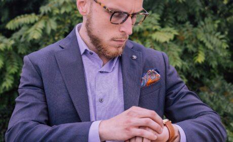 Jak dobrać poszetkę do krawata i garnituru?